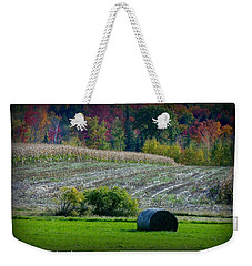 Hay Fall Weekender Tote Bag