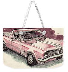 Hg Holden Ute Weekender Tote Bag