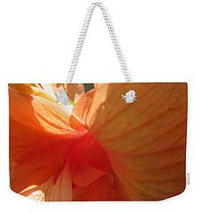 Hibiscus Butterfly Weekender Tote Bag