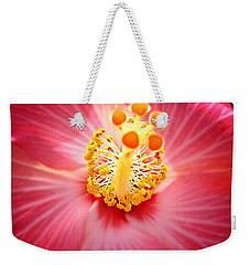 Hibiscus Highland  Weekender Tote Bag