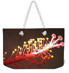Hibiscus Weekender Tote Bag by Mary Ellen Mueller Legault