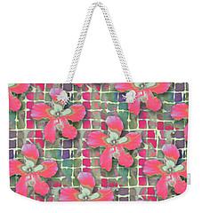 Hibiscus Pink Water Weekender Tote Bag