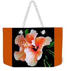 Hibiscus Spectacular Weekender Tote Bag