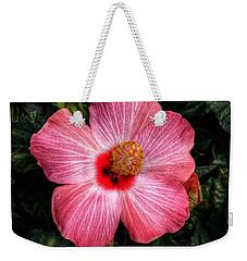 Hibiscus Sunset Weekender Tote Bag