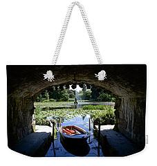 Hidden Boat Weekender Tote Bag