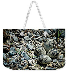 Hidden In Plain Sight Weekender Tote Bag by Rhonda Barrett