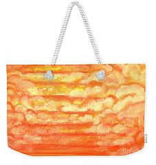 Hidden Step Weekender Tote Bag by Heather  Hiland