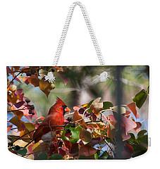 Hiding Away Weekender Tote Bag by Linda Unger