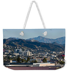 High Angle View Of A City, Beverly Weekender Tote Bag