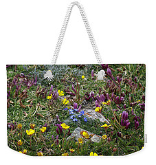 Weekender Tote Bag featuring the photograph High Anxiety by Jeremy Rhoades