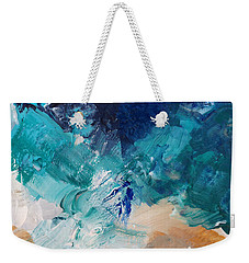 High As A Mountain- Contemporary Abstract Painting Weekender Tote Bag