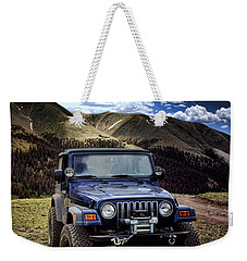 High Country Adventure Weekender Tote Bag