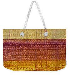 High Desert Horizon Original Painting Weekender Tote Bag by Sol Luckman
