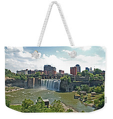 High Falls Weekender Tote Bag by Aimee L Maher Photography and Art Visit ALMGallerydotcom