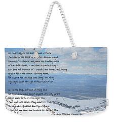 High Flight Weekender Tote Bag by Paulette B Wright