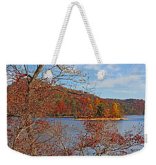 Weekender Tote Bag featuring the photograph High On The Mountain by HH Photography of Florida