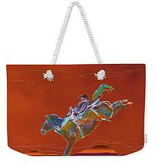 High Riding Weekender Tote Bag by Kae Cheatham