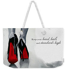 High Standards Weekender Tote Bag