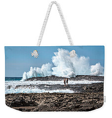 In Over Their Heads Weekender Tote Bag