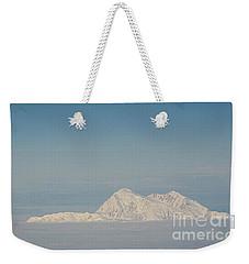 Blanket Of Denali Weekender Tote Bag by Heather  Hiland