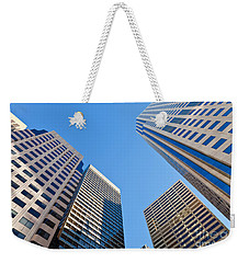 Highrises Weekender Tote Bag by Jonathan Nguyen
