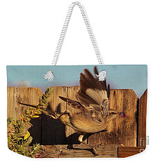 Hightail It Out Of There Weekender Tote Bag