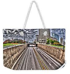 Weekender Tote Bag featuring the photograph Highway Into St. Louis by Deborah Klubertanz