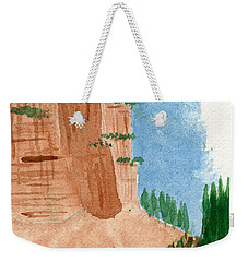 Highway Smile Weekender Tote Bag