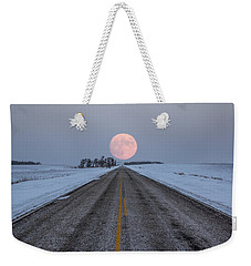 Highway To The Moon Weekender Tote Bag