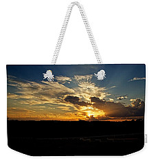 Hill Country Sunset Weekender Tote Bag