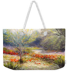 Hill Country Wildflowers Weekender Tote Bag by Patti Gordon