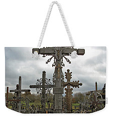 Hill Of Crosses 06. Lithuania.  Weekender Tote Bag