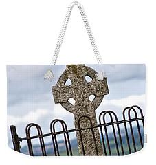 Hill Of Tara Celtic Cross Weekender Tote Bag