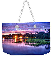 Hilton Head Evening Marsh Weekender Tote Bag