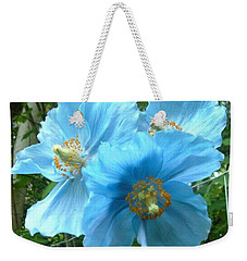 Weekender Tote Bag featuring the photograph Himalayan Poppy by Sharon Duguay