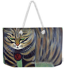 His Lordship Monty Weekender Tote Bag by Jolanta Anna Karolska
