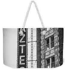 Historic Aztec Theater Weekender Tote Bag by Melinda Ledsome