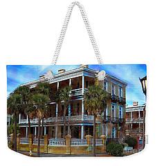 Historic Charleston Mansion Weekender Tote Bag