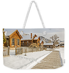 Historic Ghost Town Weekender Tote Bag by Sue Smith