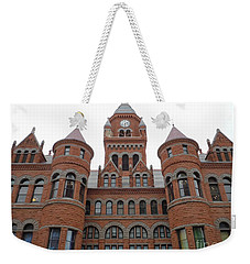 Weekender Tote Bag featuring the photograph Historic Old Red Courthouse Dallas #1 by Robert ONeil