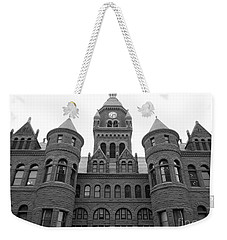 Weekender Tote Bag featuring the photograph Historic Old Red Courthouse Dallas #2 by Robert ONeil