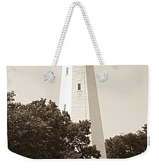 Historic Sandy Hook Lighthouse Weekender Tote Bag by Anthony Sacco