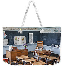 Historic School Classroom Art Prints Weekender Tote Bag