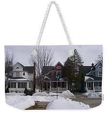 Historic Seventh Street Menominee Weekender Tote Bag