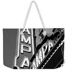 Historic Tampa Weekender Tote Bag by David Lee Thompson