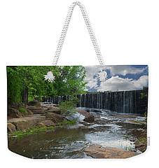 Historic Yates Mill Dam - Raleigh N C Weekender Tote Bag