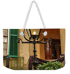 Historical Gas Light Weekender Tote Bag