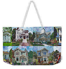 Historical Homes Weekender Tote Bag