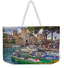 History At Lake Garda Weekender Tote Bag