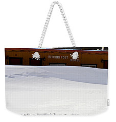 Hitchin' Post April Weekender Tote Bag by Jeremy Rhoades